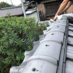 台風後の修理②