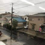 雨・雨・雨…