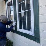 窓枠補修のその後。
