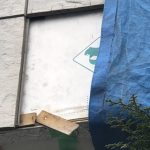 尾張旭市K様邸の補修工事。