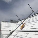 瀬戸市K様邸の屋根塗装。